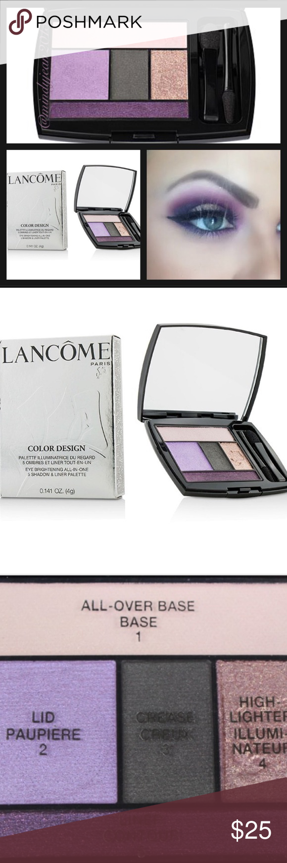 Lancôme Color Design Lavender Grace Shadow & Liner