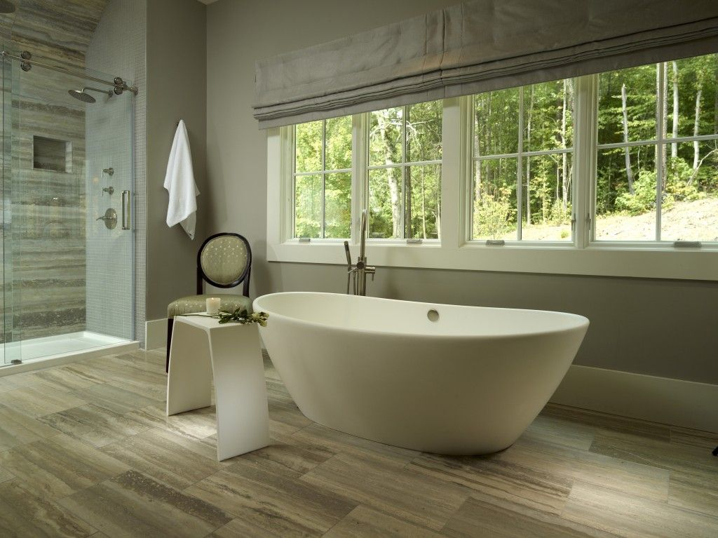 Elise Freestanding Tub   MTI Baths : This Bathroom Features Not One But Two Bath  Tubs