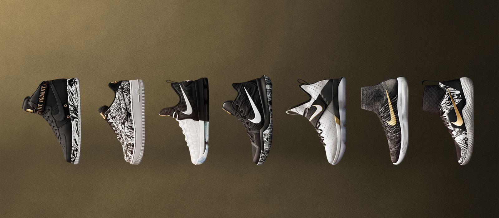 BLACK HISTORY MONTH COLLECTION Featuring sneakers from Nike Basketball, Nike  Sportswear, Nike Running and