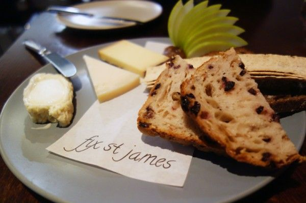 3 Cheese ($26) at Fix St James