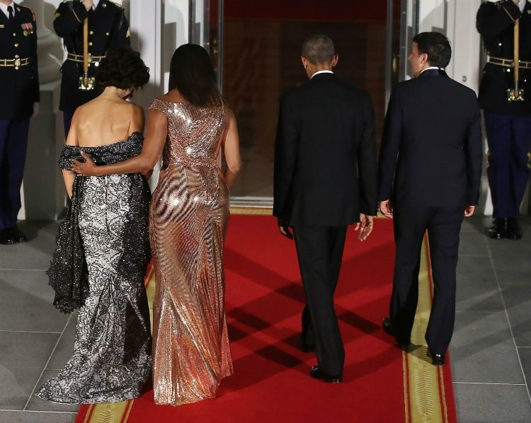 Michelle Wore A Beautiful And Important Dress For Her Last State Dinner