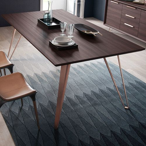 found it at allmodern grand dining table brown dining room mesas rh pinterest es