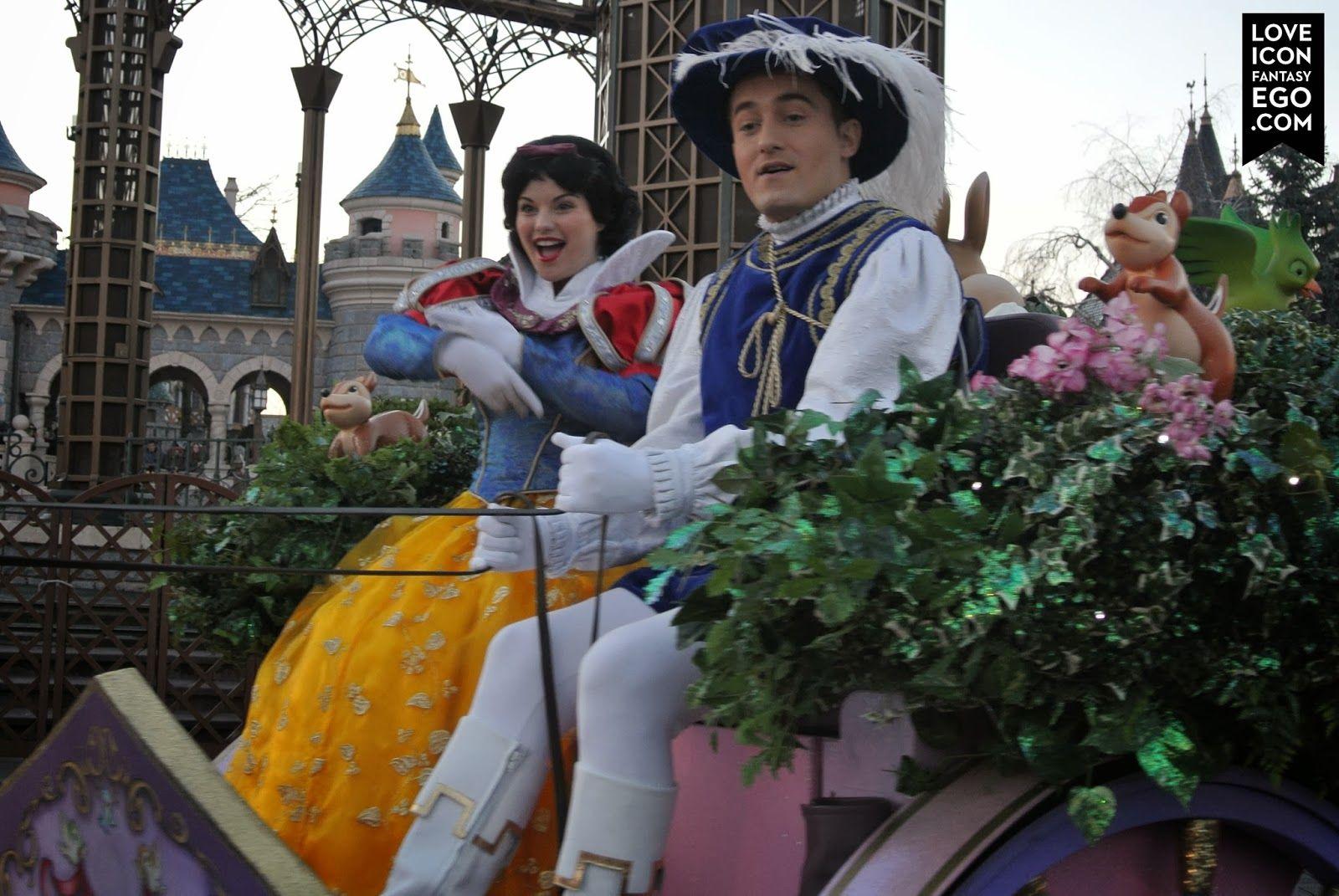 Snow White, Disney Magic on Parade at Disney Land Paris