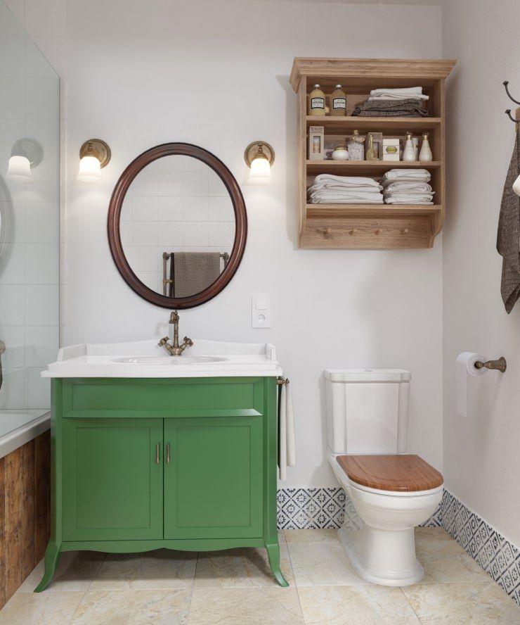 Decoração rústica e aconchegante  TVs e Quartos -> Decoracao Banheiro Rustica