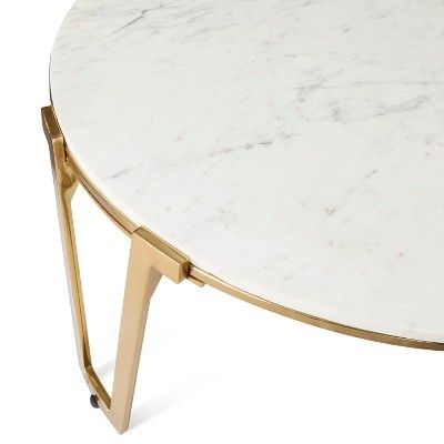 Nate Berkus Gold Coffee Table.Brass And Marble Coffee Table Nate Berkus Products Coffee