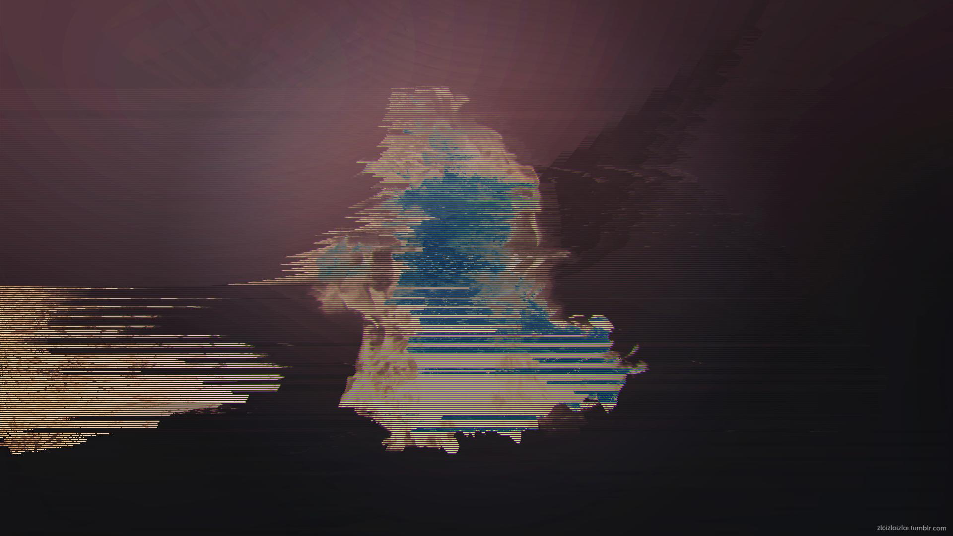 F1R3 [1920x1080] Glitch art, Wallpaper, Hd wallpaper