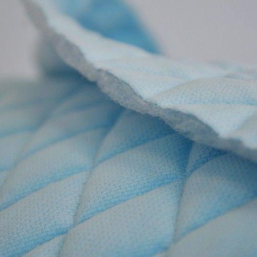 647ed12972bcc1 Velvet pikowany błękitny - romby #velvet #new #sewing #szycie #szyjemy #