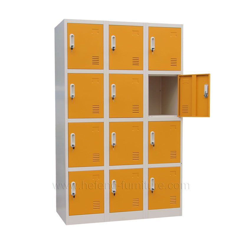 12 Door Metal Sports Lockers Luoyang Hefeng Furniture Sports Locker Lockers Locker Supplies
