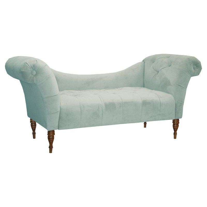 Olivia Chaise Lounge Velvet Dream Pool