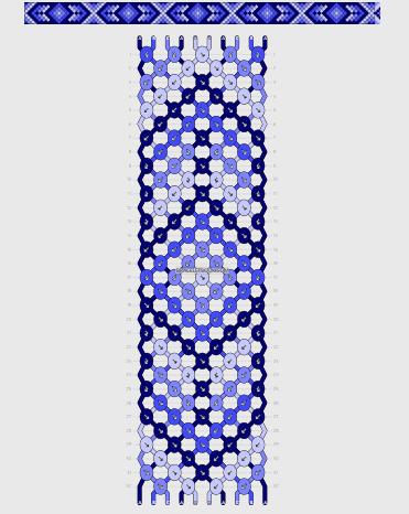 friendship bracelets designs