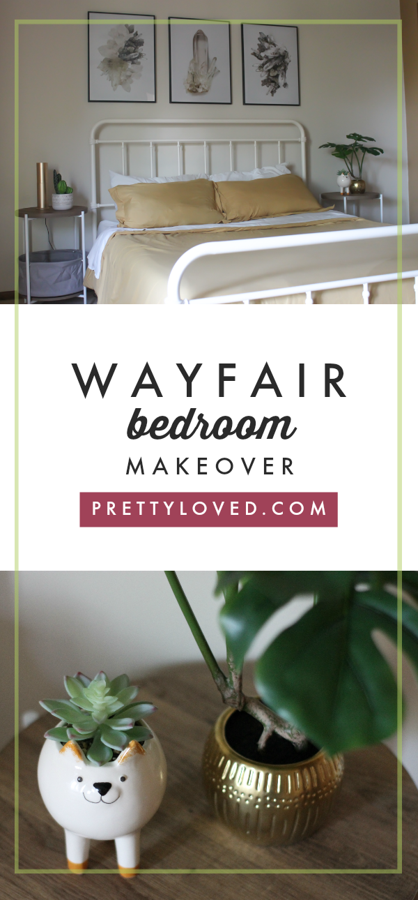 . Bedroom Makeover Featuring Wayfair   Sponsored   Pretty Loved Blog