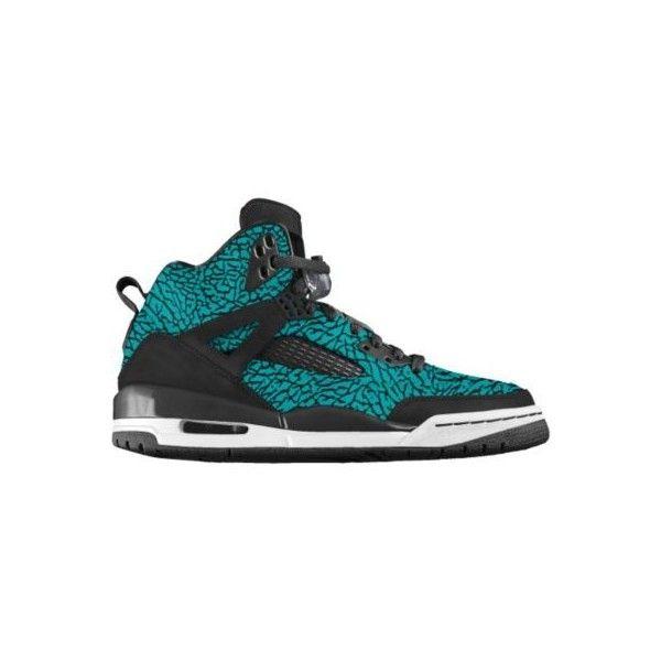 Nike Jordan Spizike iD Custom Women's Basketball Shoes - White, 8 ($210) ❤  liked on Polyvore | my polyvore creations | Pinterest | Jordan spizike, Nike  ...