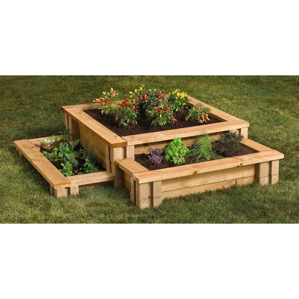 oldcastle 8 in. x 8 in. x 6 in. tan brown planter wall block