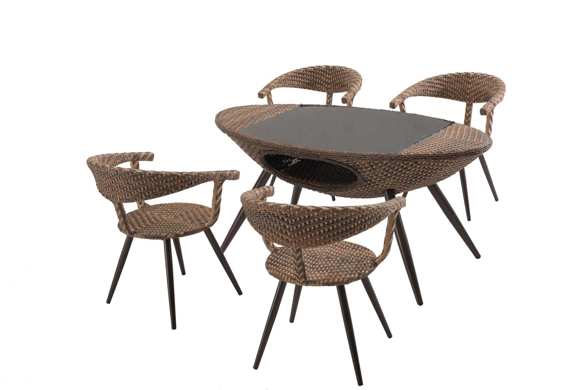 daylen 5 piece dining set products pinterest wicker furniture rh pinterest com