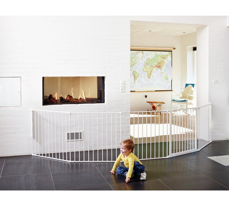 Buy BabyDan XXL Room Gate Divider White Playpens