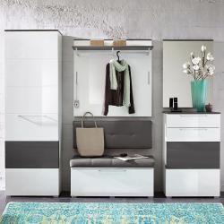 Photo of Innostyle Reno armadio 65x40x200 cm bianco lucido InnostyleInnostyle