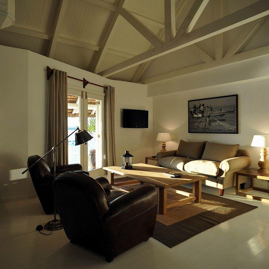 Suite sitting room, 20°Sud Mauritius