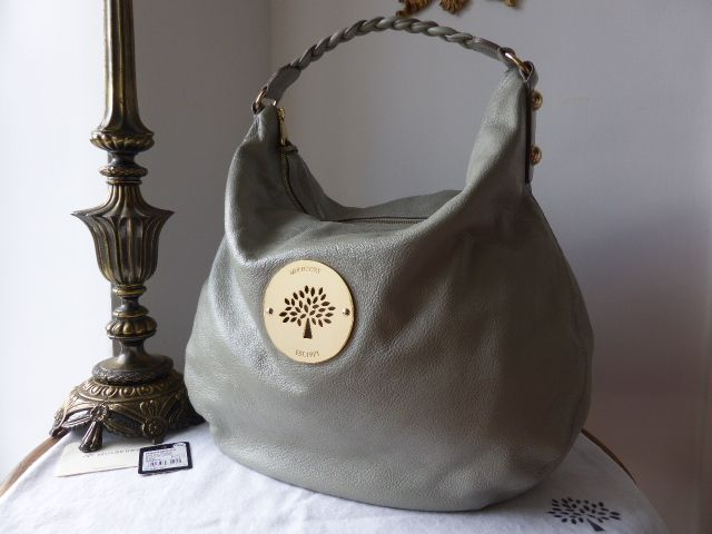 cbd4f788c1 Mulberry Large Daria Hobo in Drizzle Soft Spongy Leather > http://www