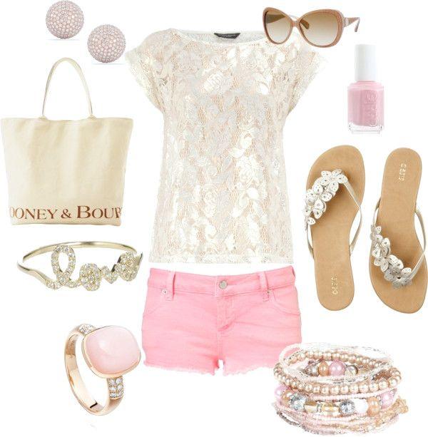 Süße und feminine rosa Outfit-Ideen für schöne Frauen