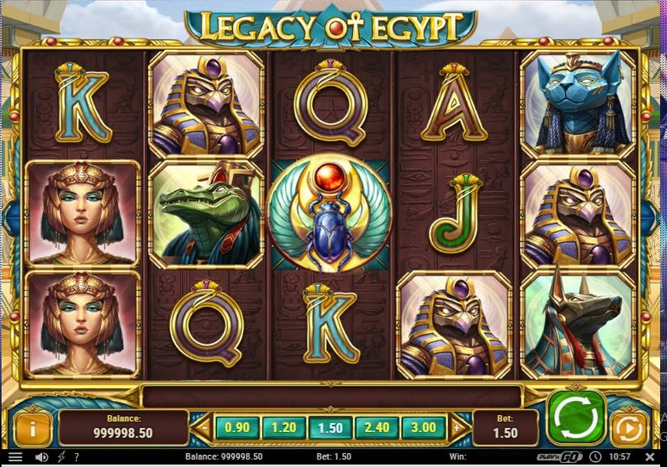 Legacy of Egypt Online Slot Slot, Play casino games