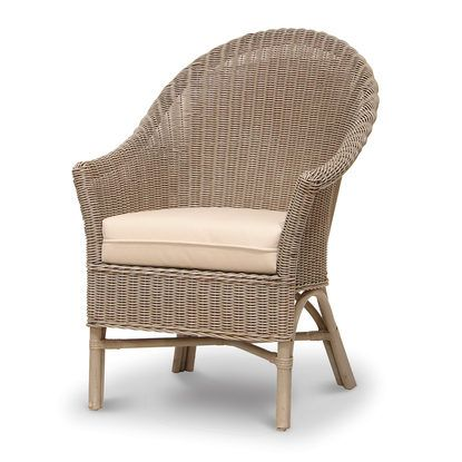 Palecek Bistro High Back Chair 7408 Wicker Rattan  sc 1 st  Pinterest & BISTRO HIGH BACK CHAIR by PALECEK | Berkeley Bungalow | Pinterest ...
