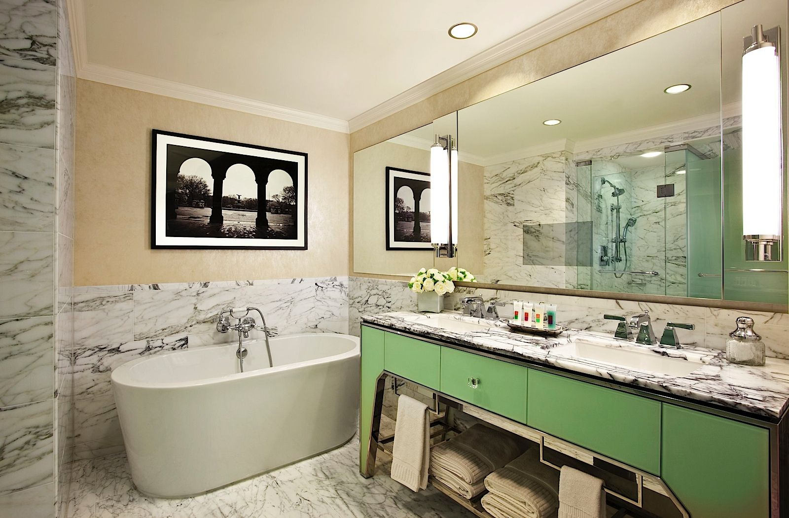 new bathroom images%0A New York u    s Loews Regency Hotel two bedroom suites