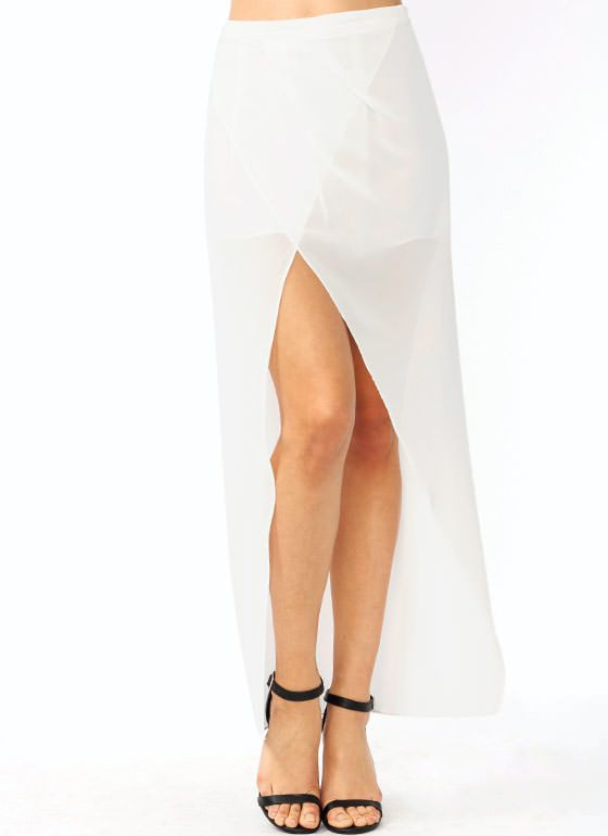 tulip maxi skirt $32.80