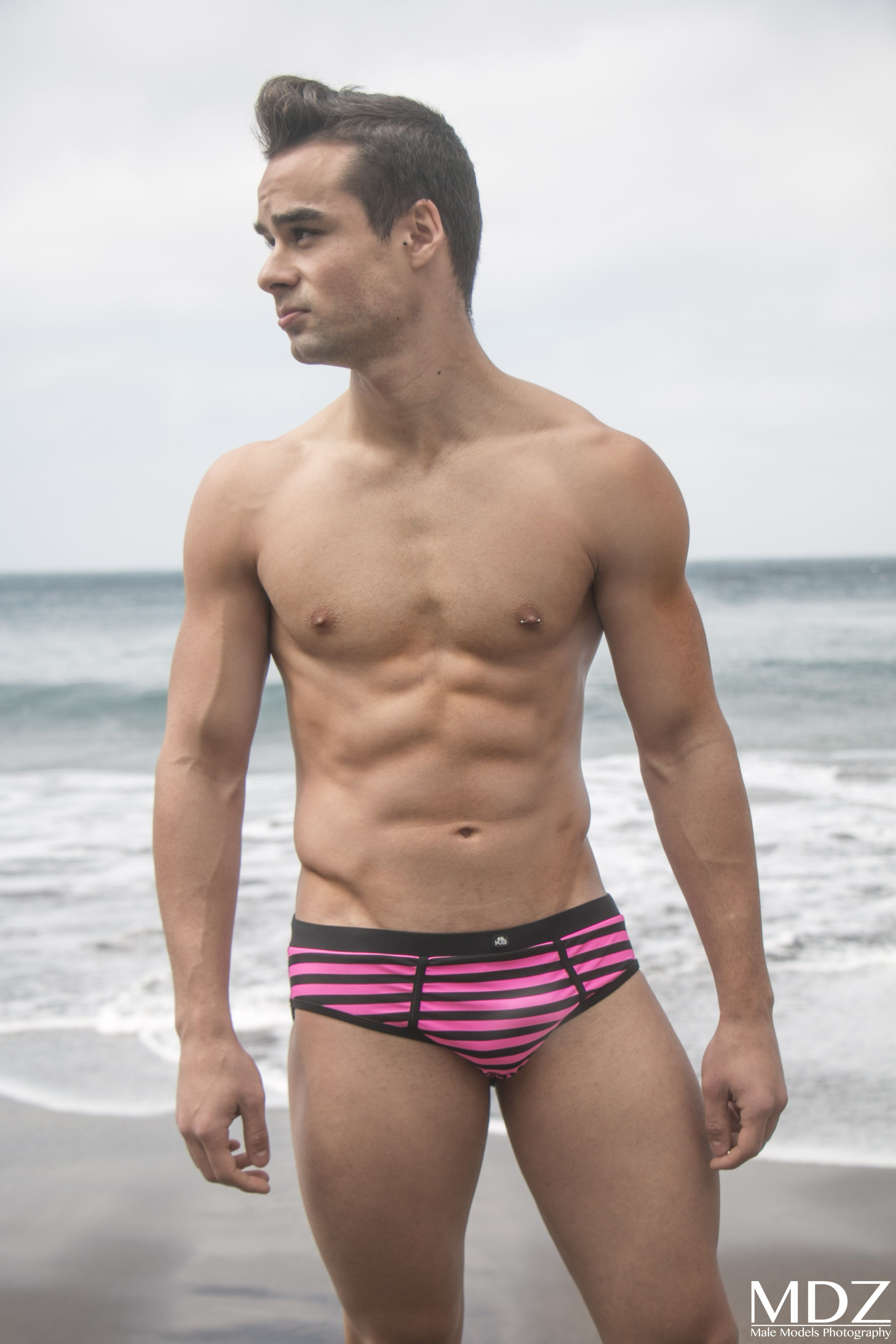 c043f6f506a #male #model #MDZ #trunks #swimwear #beach #sand #summer. Find this Pin and  more on Men Underwear ...