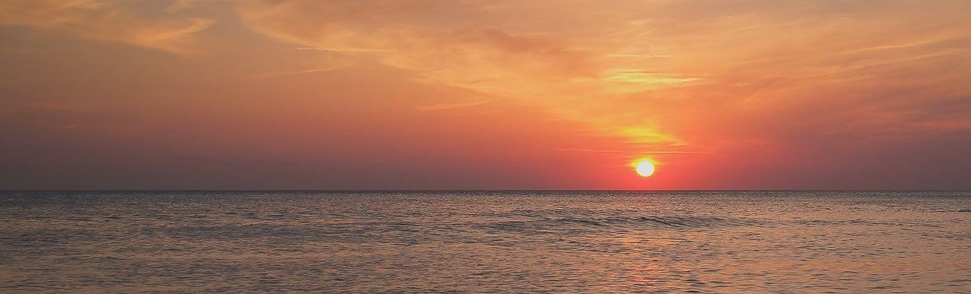 Ocean Sunset T S Online Marketing Linkedin Background