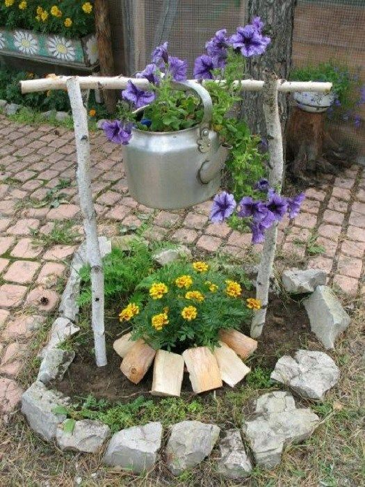 What kind of original DIY decorations we can make this summer in the garden
