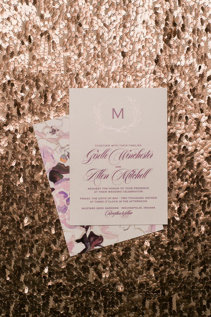 wedding celebration invitation%0A GISELLE Suite Glitter Package  grey  rose gold  burgundy  rose gold glitter  wedding