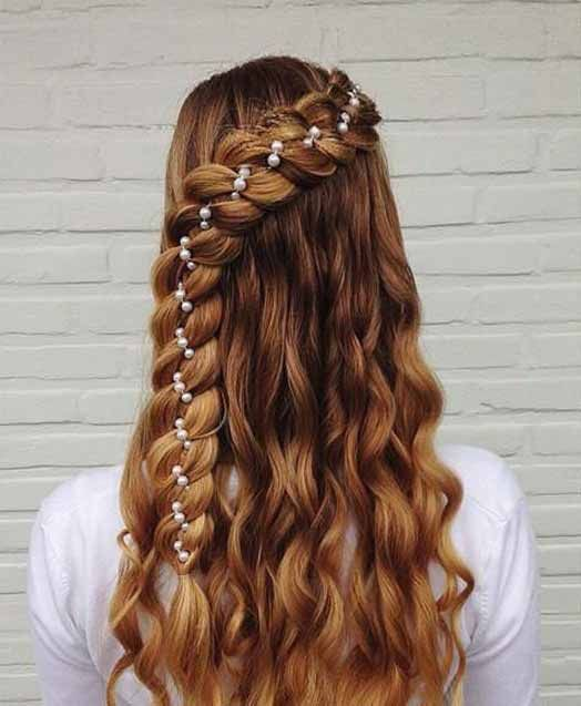 simple eid hairstyles 2019