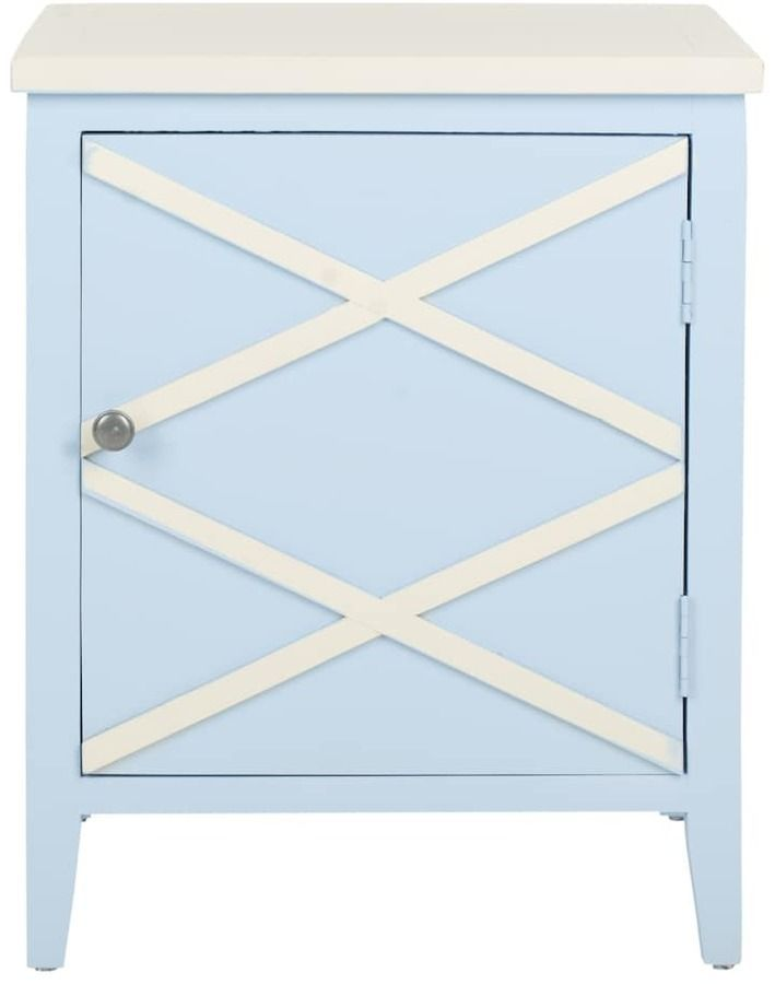 safavieh bernardo side cabinet products cabinet decor light blue rh pinterest com