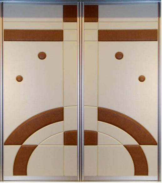 Closet doors for bedrooms doors modern aluminum for Aluminium kitchen cabinets hyderabad