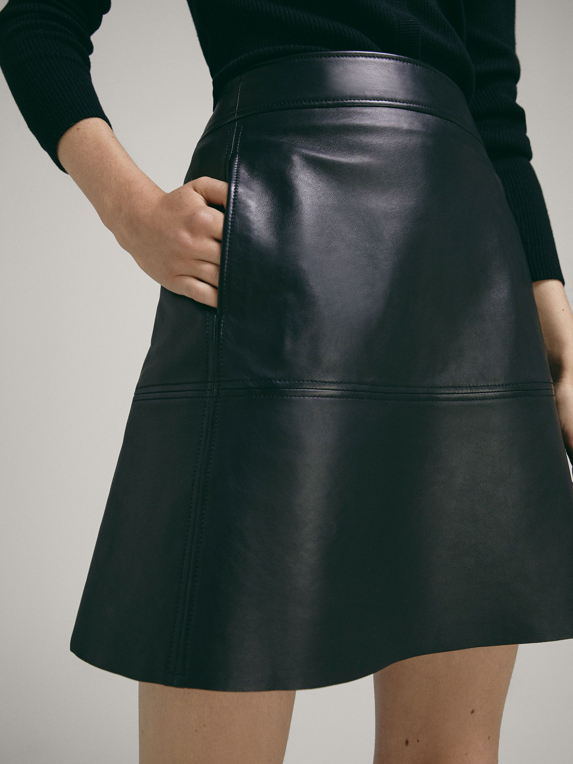 01f585f6ae NAPPA SKIRT WITH SEAMS - Women - Massimo Dutti | Платья | Skirts ...