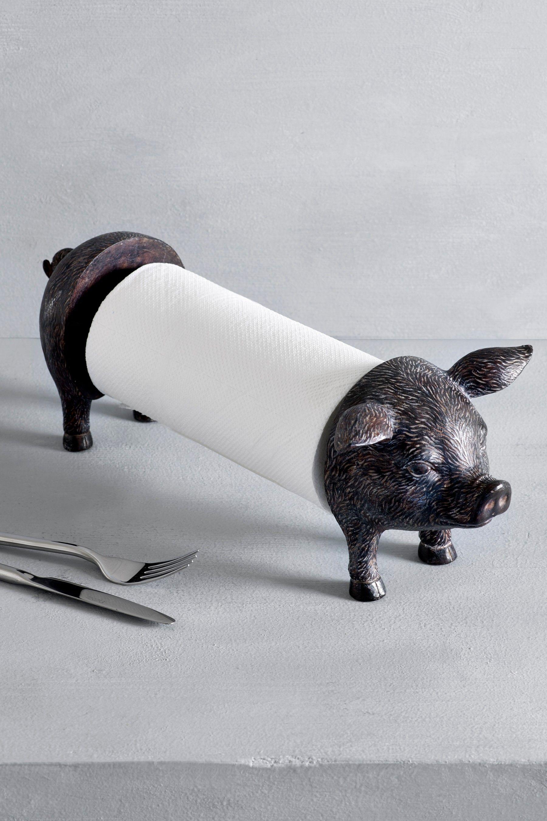 Next Pig Kitchen Roll Holder Black Kitchen Roll Holder Paper Towel Holder Kitchen Roll
