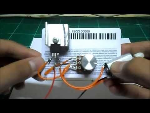 How To Build A Simple Pwm Dc Motor Speed Controller Using Atmega8 Microcontroller Mosfet And Pot Youtube Motor Speed Motor Speed
