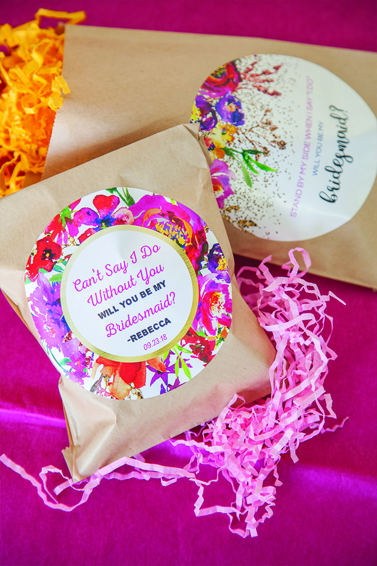Pack a little goody bag with fun treats to ask your girls to be in ...