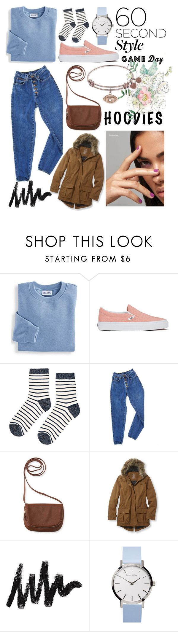 """""""Game day"""" by kaliforniakatie on Polyvore featuring Blair, Vans, Accessorize, PèPè and Aéropostale"""