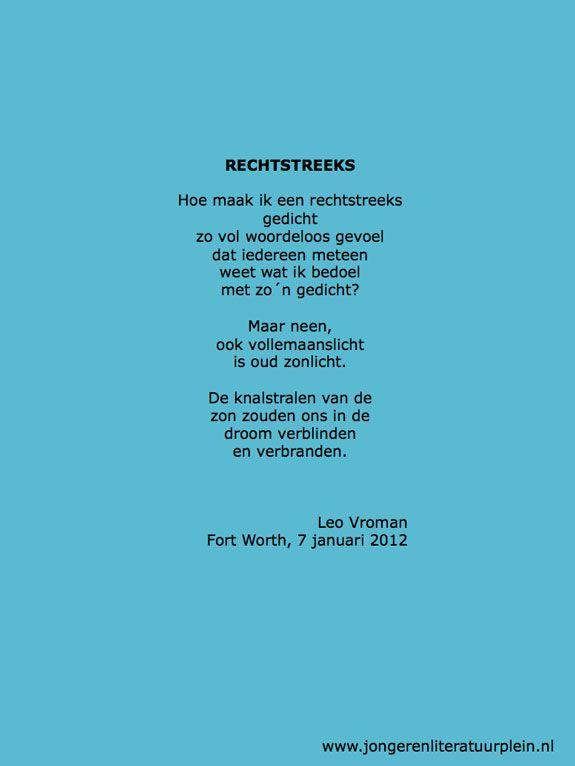 Leo Vroman 10 April 1915 22 Februari 2014 Gedichten