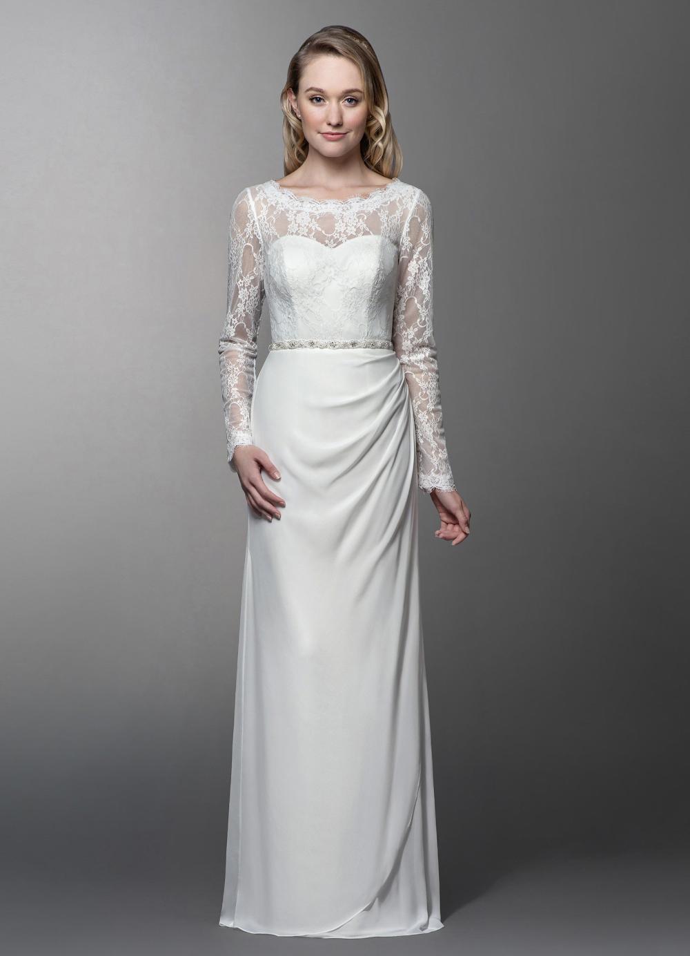 Tadashi Shoji Ivory Sleeveless Sequined Embellished Gown