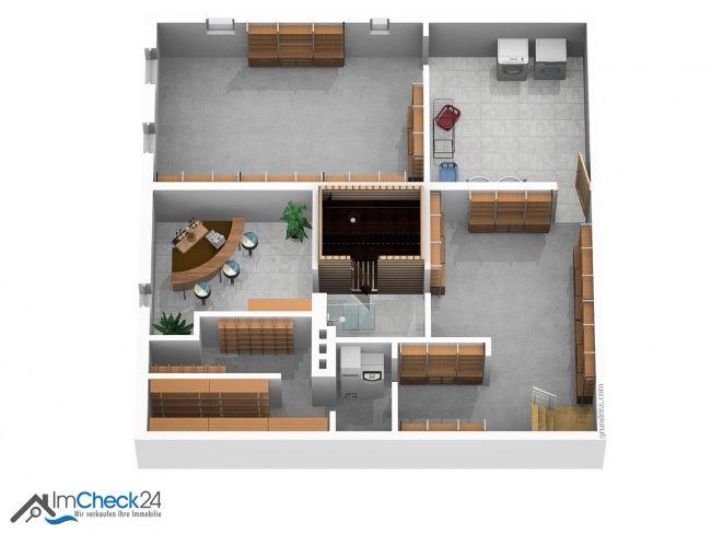 Das Haus ist vollständig unterkellert und wird sowohl als Nutz- als auch als Wohnfläche genutzt. Im Keller besteht eine Kellerbar, eine Sauna mit Dusche sowie weitere Abstellräume.