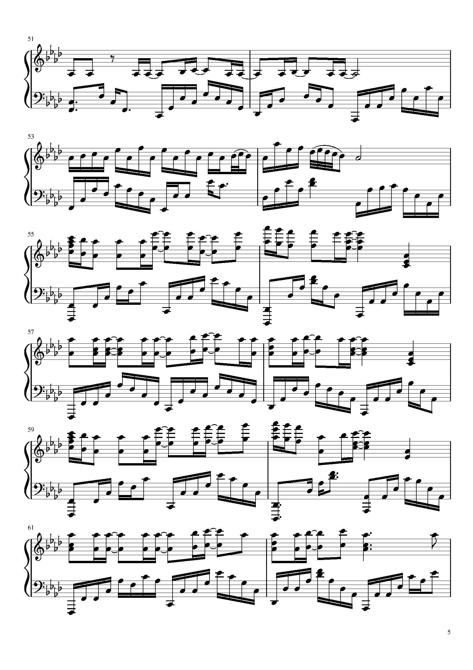 Pin By Maki Chan On Nandemonaiya Piano Sheet Piano Sheet Sheet