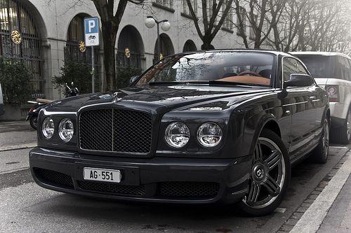 Bentley Brooklands Coupé Interior