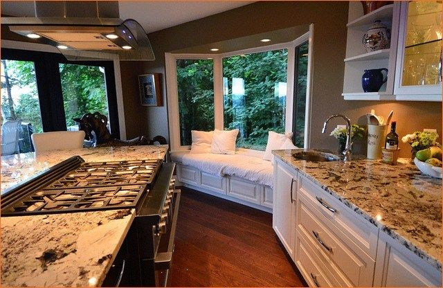 41 Gorgeous Kitchen Remodel with Bay Window Ideas ...