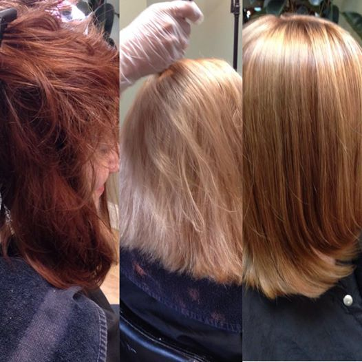 Leslie Took This #client From A #redhead To Her