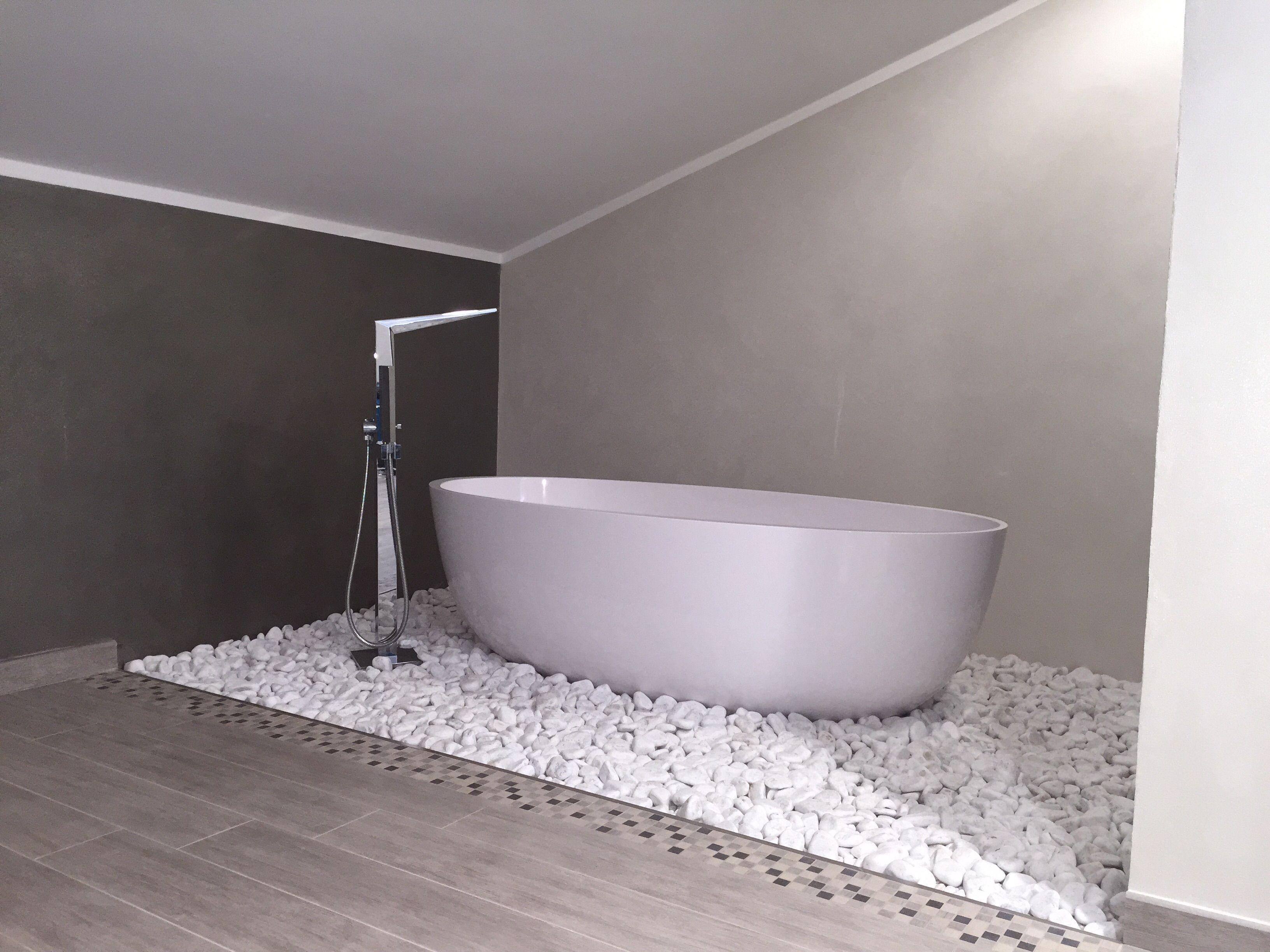 Vasche Da Bagno Moderne : Vasca da bagno in bagno moderno realizzato in provincia di torino