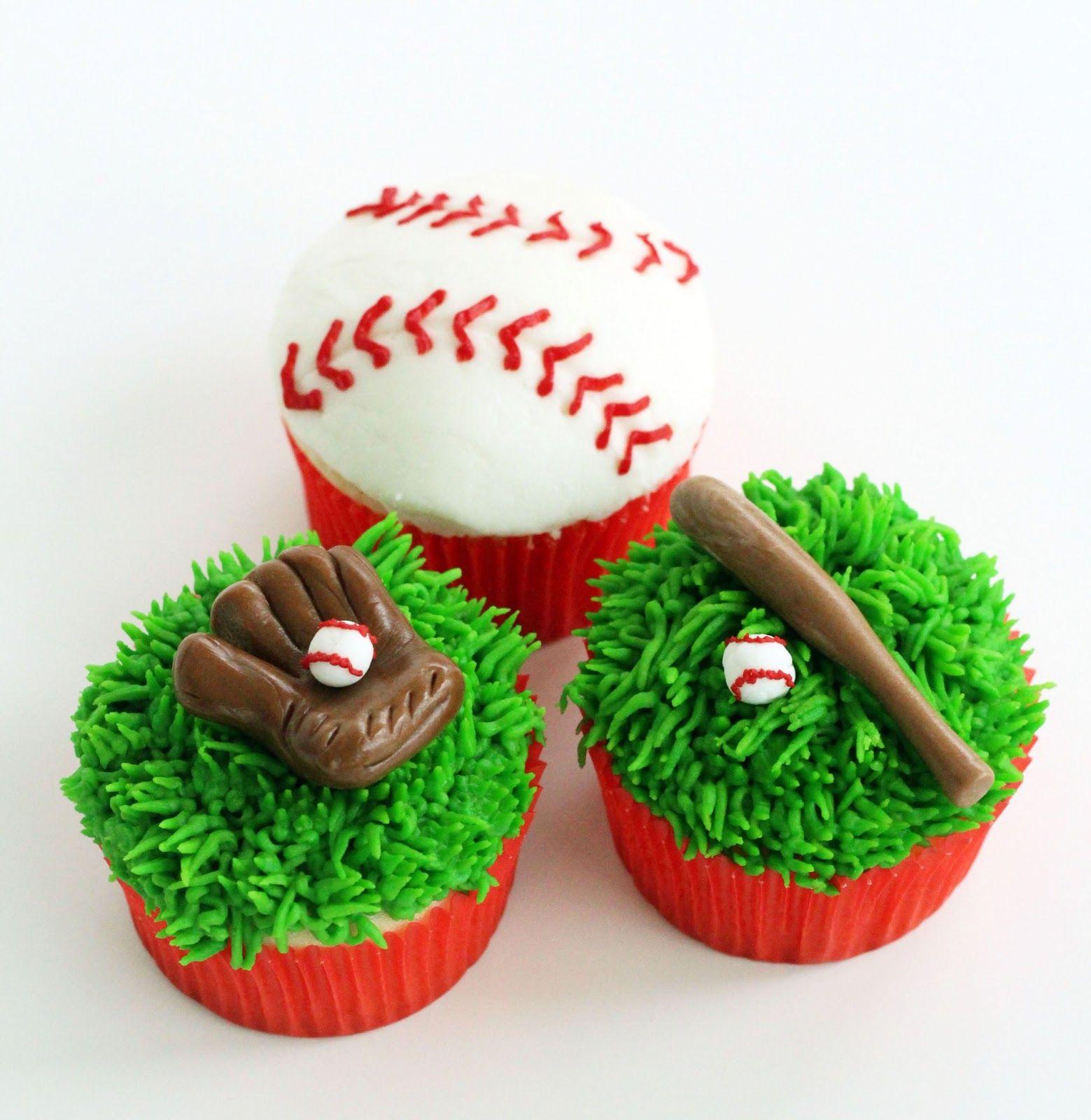 worth pinning major or little league baseball cupcakes bake