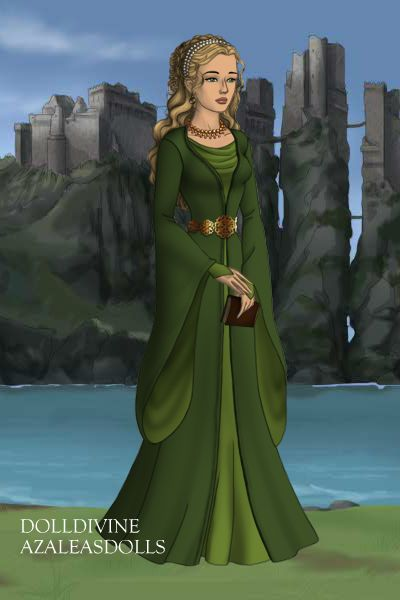 New Character ~ by Skellakitty ~ created using the Game of Thrones doll maker   DollDivine.com