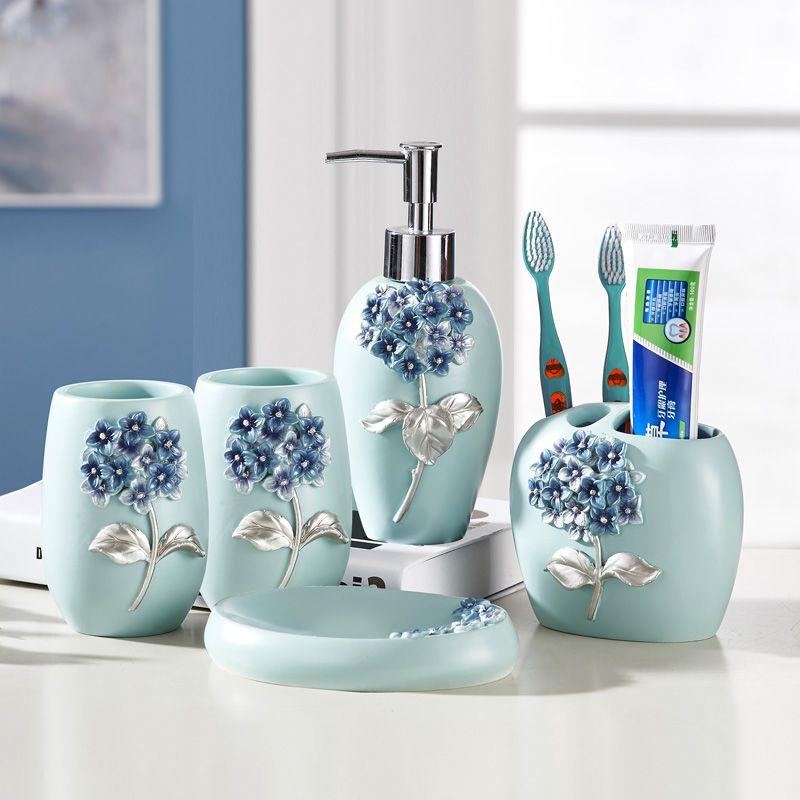 five pieces set of bathroom fashion wash set bathroom supplies rh za pinterest com